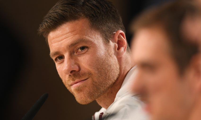 Xabi alonso interviewed for the upcoming legends charity game between LFC & Bayern