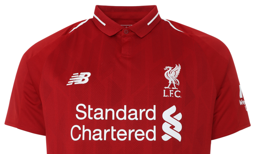 huge selection of 7a7d0 ef33d Out now: LFC's 18-19 home kit, training range and 247s ...