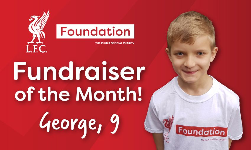 George Daly is the LFC Foundation Fundraiser of the month!
