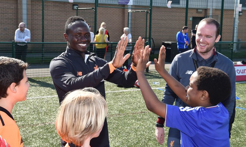 Sadio Mane LFC Foundation LSTM Project launch