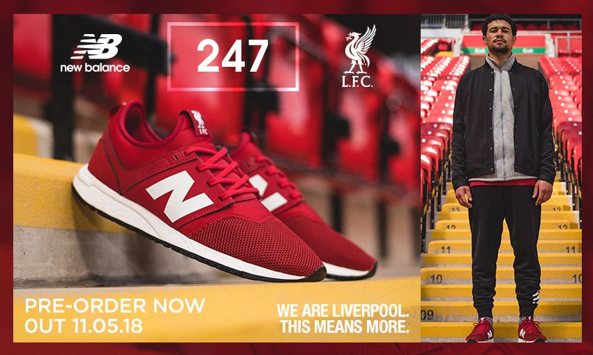 6fec5a56c Available now: Pre-order the new LFC 247 trainers - Liverpool FC