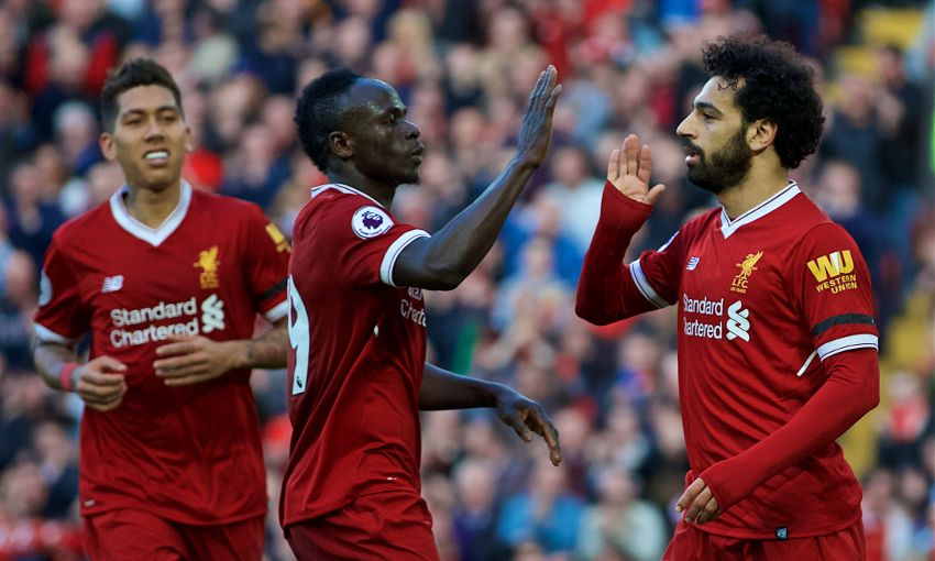 Image result for liverpool front three