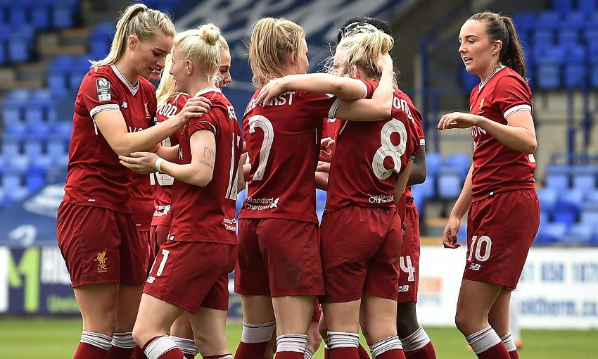 LIVERPOOL LADIES V EVERTON