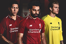 Shop the new 18/19 Home Kit now