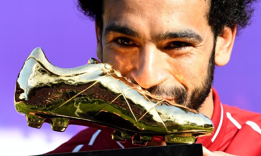 Mohamed Salah wins Golden Boot with new PL record