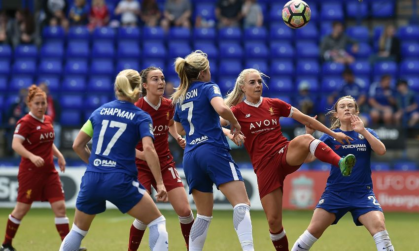 LIVERPOOL LADIES V CHELSEA