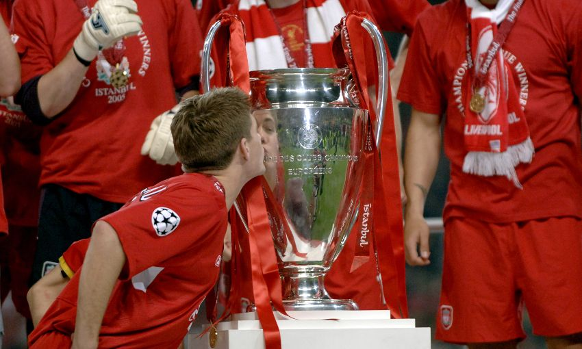 f5c401acc Steven Gerrard s message to the LFC squad for CL final - Liverpool FC
