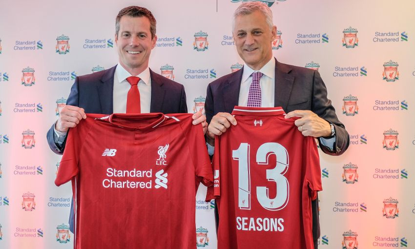 ... 303010 liverpool fc standard chartered announcement. Standard Chartered  New Balance Western Union · Next article 5c94ed6e3