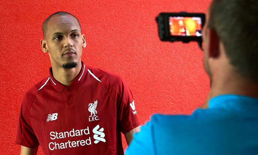 best website 3431d 89a1c Photo gallery: Fabinho checks into Melwood to agree LFC deal ...