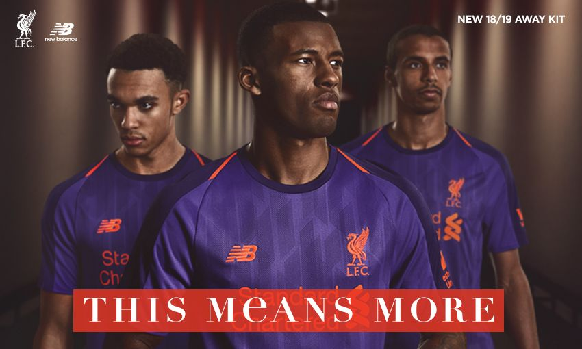 Out now  LFC launches new away kit for 2018-19 - Liverpool FC 7ac65892d