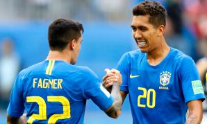 Roberto Firmino features for Brazil in the World Cup.