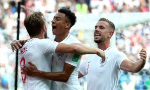 England and Jordan Henderson versus Panama at the World Cup
