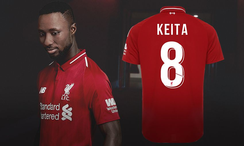 new arrival 63854 d50d3 Naby Keita range available to purchase online now - Liverpool FC