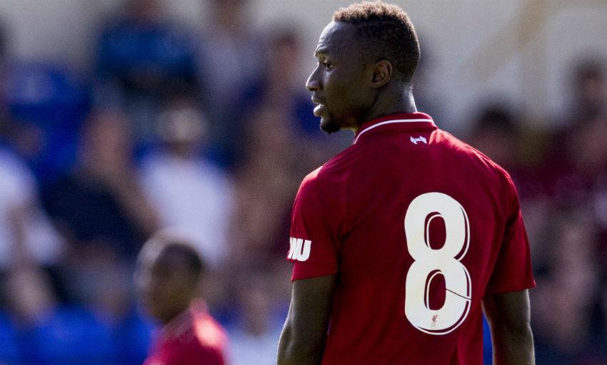 Naby Keita makes his Liverpool FC debut.