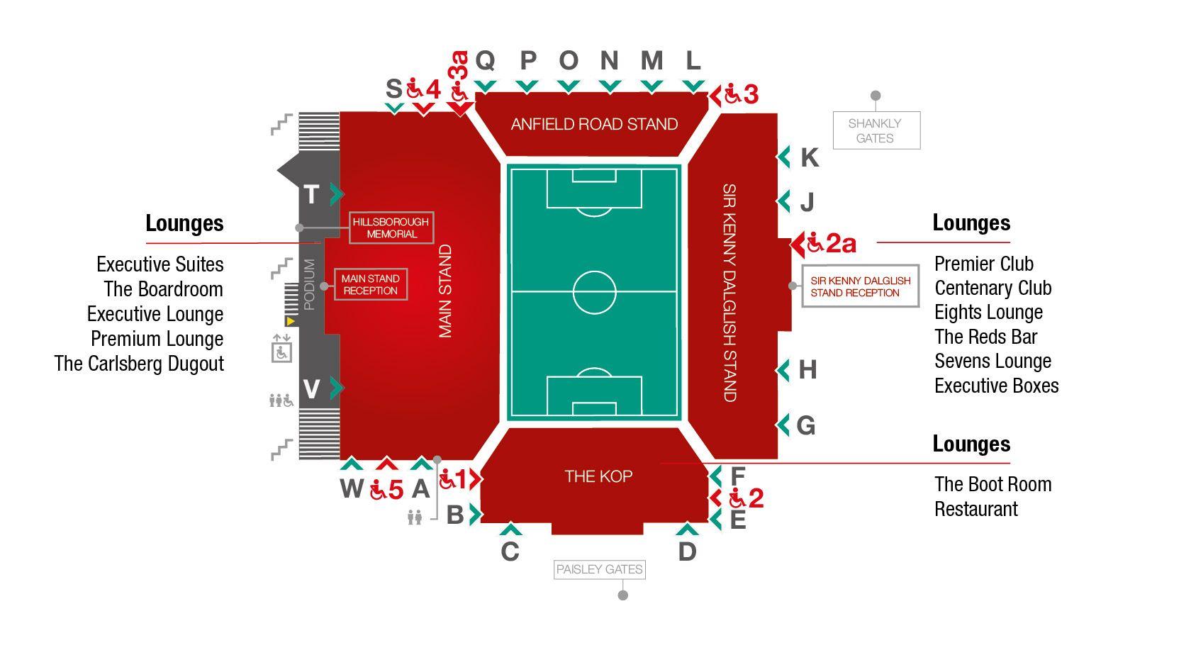 Anfield Boot Room Menu