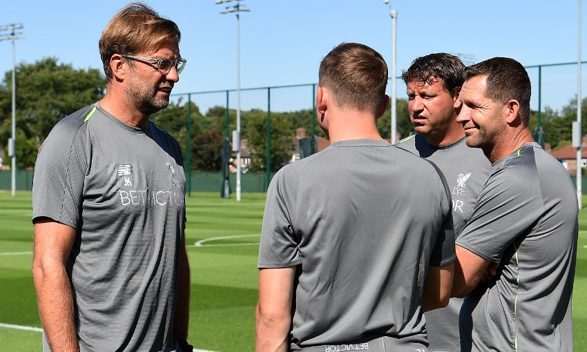 Liverpool begin pre-season training at Melwood.