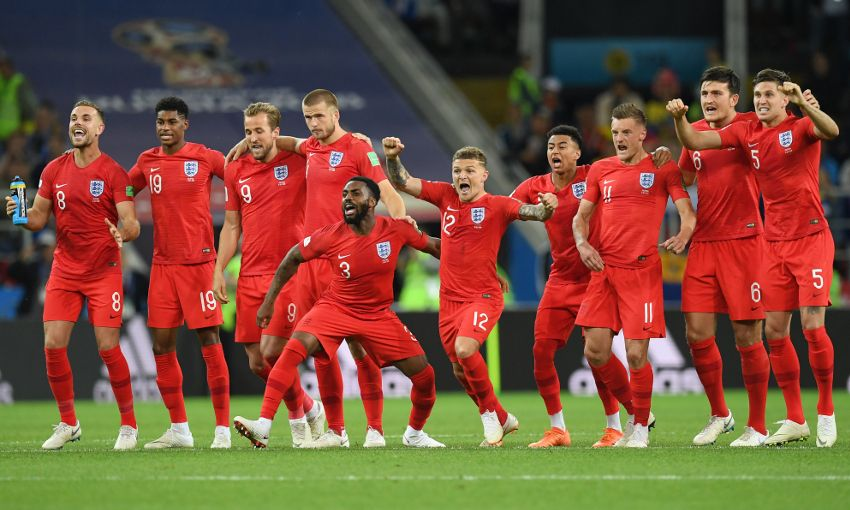England at the 2018 World Cup