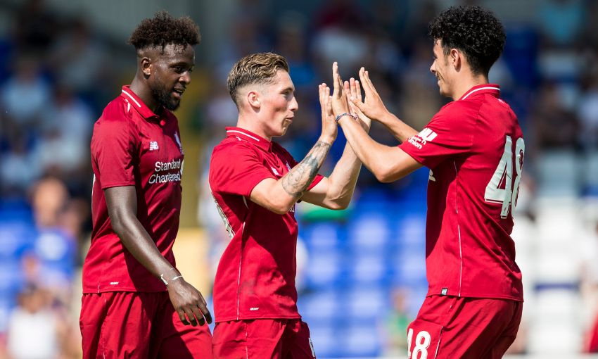 Liverpool take on Chester FC.