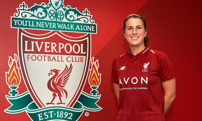 Niamh Fahey joins Liverpool Ladies from Bordeaux - Liverpool FC
