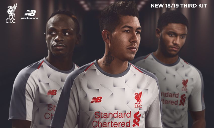 731de8846 Liverpool FC launch new 2018-19 New Balance third kit - Liverpool FC