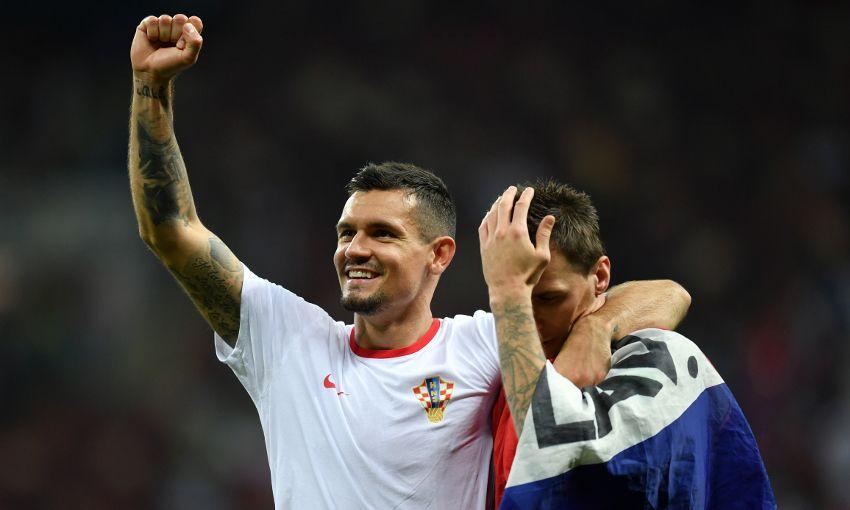 Croatia's Dejan Lovren at the World Cup