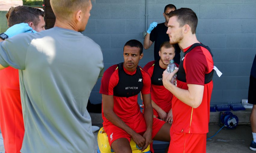 Liverpool FC defender Joel Matip at Melwood