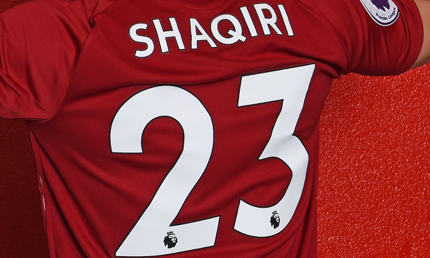 Xherdan Shaqiri's Liverpool squad number confirmed - Liverpool FC