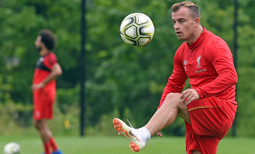 70b7bfbffe7 For more photos of the Reds' new No.23 training, click here>>>