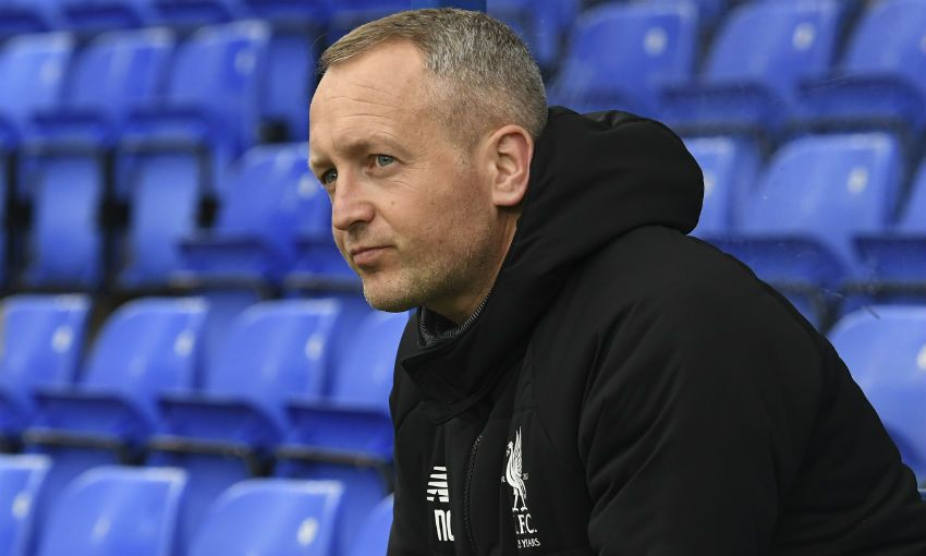 Neil Critchley, Liverpool FC U23s manager