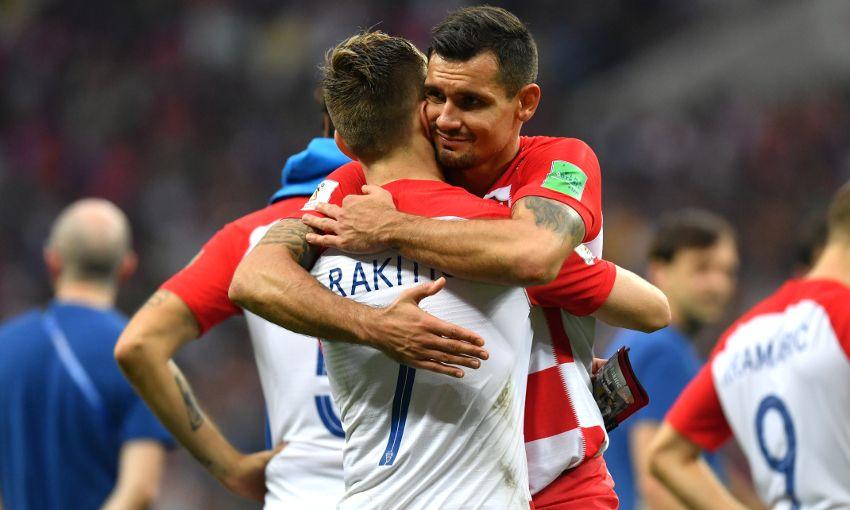 Dejan lovren we can be proud of what we achieved liverpool fc dejan lovren during the world cup final stopboris Images