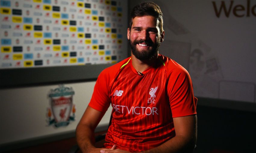 Alisson Becker in his first Liverpool FC interview