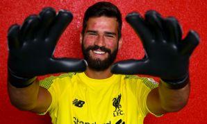 Liverpool FC goalkeeper Alisson Becker