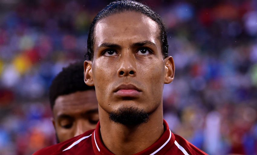 Liverpool centre-back Virgil van Dijk