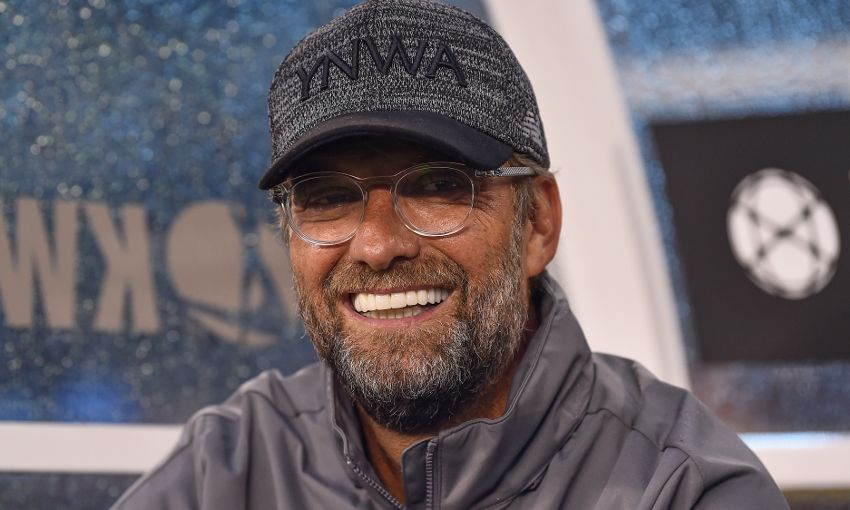 Liverpool manager Jürgen Klopp at the MetLife Stadium