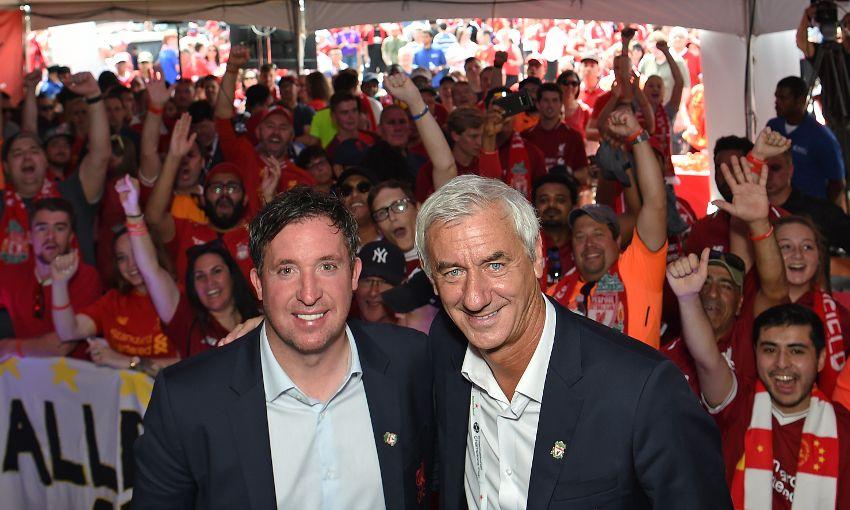 Liverpool FC fan event in Michigan