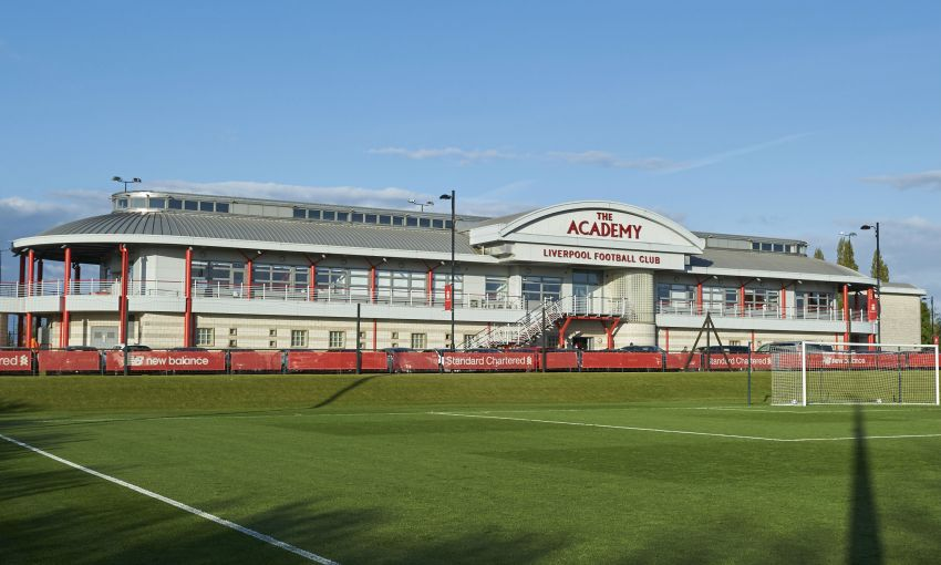 Liverpool FC's Academy in Kirkby