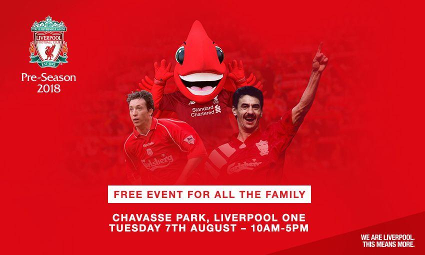 Liverpool FC pre-season fan event at Anfield