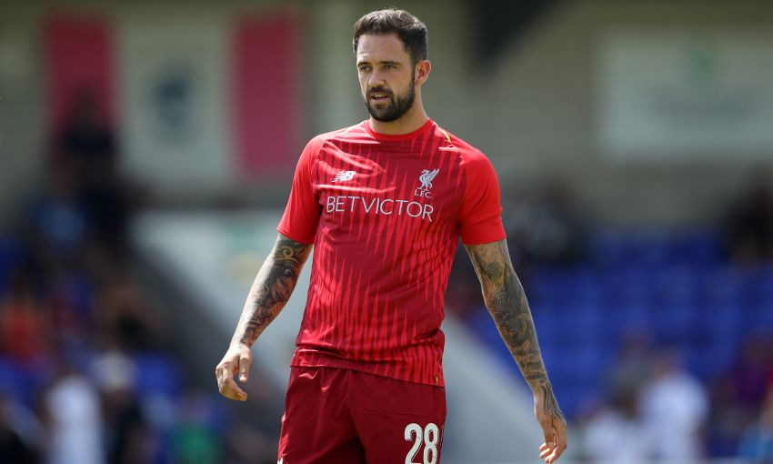 Liverpool striker Danny Ings