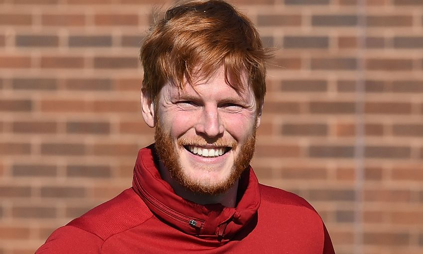 Liverpool goalkeeper Adam Bogdan at Melwood