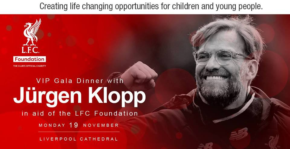 Jurgen Klopp Dinner