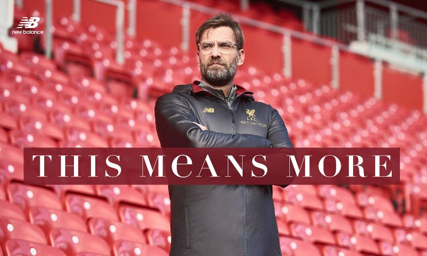 New Balance Launch Special Collection With Klopp Liverpool Fc