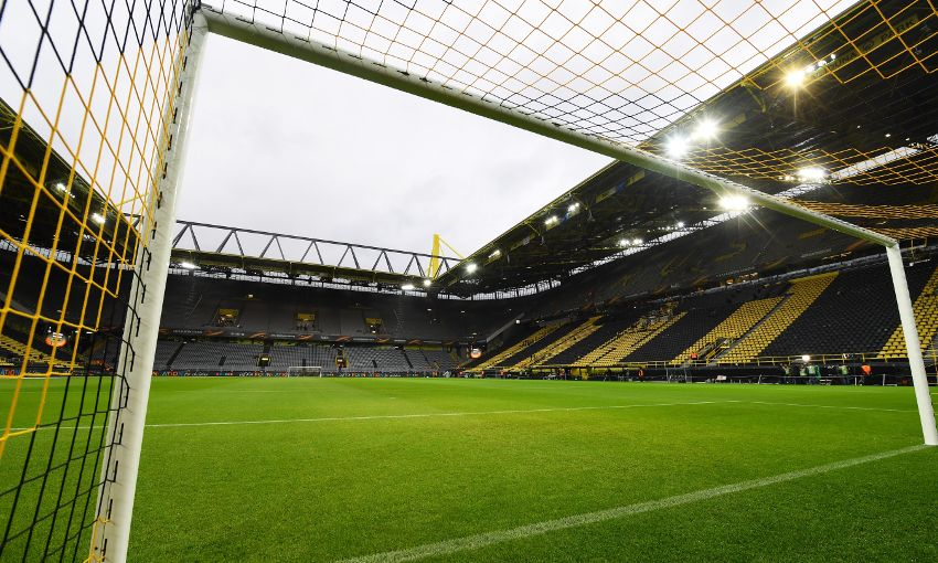 A general view of Signal Iduna Park