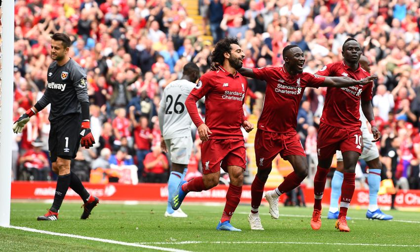 d2a99ca8858 Naby Keita fits in perfectly' - the media on Liverpool 4-0 West Ham ...