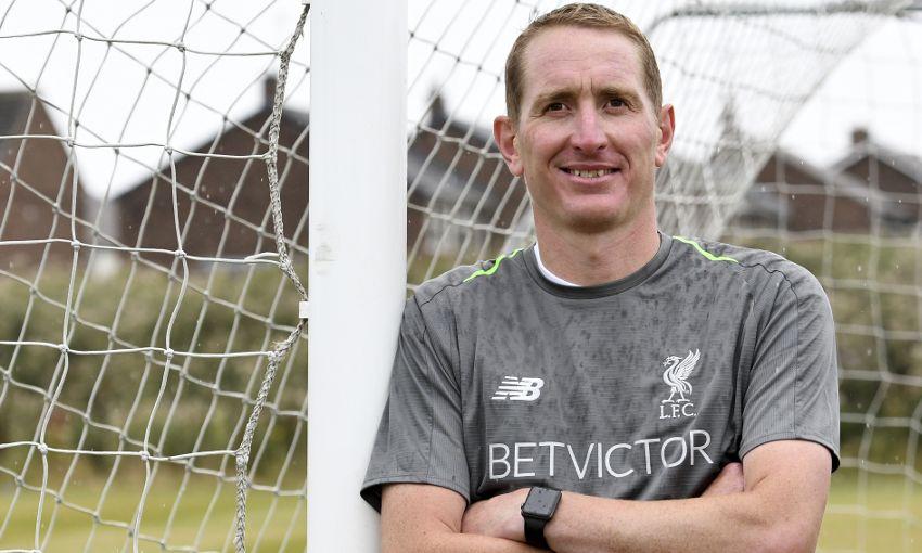 Liverpool FC Women goalkeeping coach Chris Kirkland