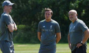Liverpool FC Women coaching staff