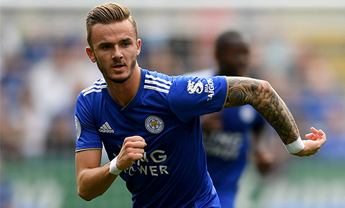 Leicester City summer signing James Maddison