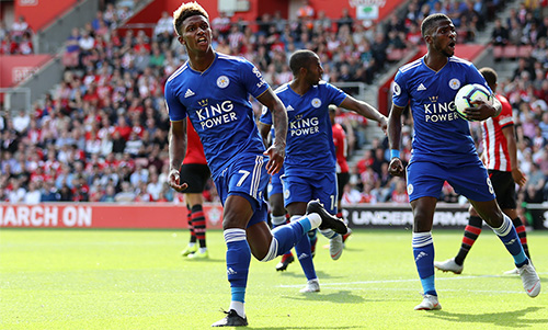 Leicester City youngster Demarai Gray