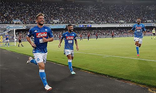 No Napoli venue request for Champions League tie against Liverpool