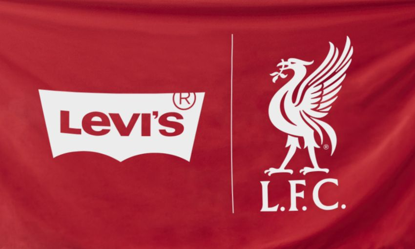 Reds welcome Levi's as official partner