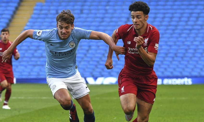 Manchester City v Liverpool U23s at the Etihad Stadium